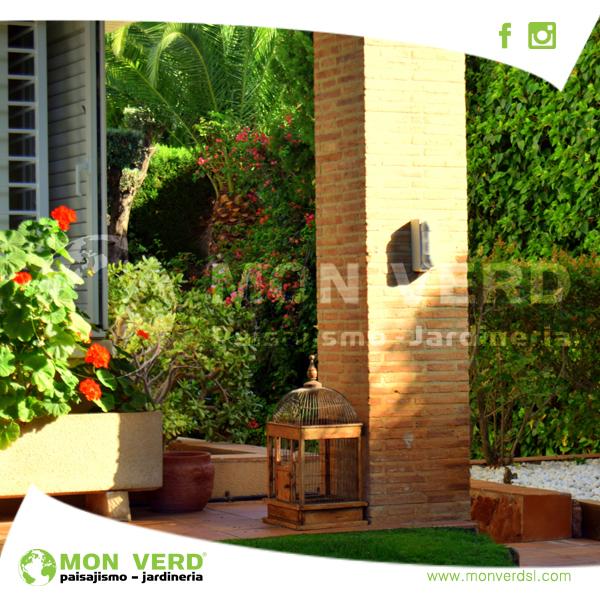 Jardines r sticos dise o de jardines valencia - Diseno de jardines rusticos ...
