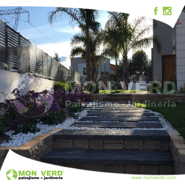 Jardines con desnivel dise o de jardines valencia jardiner a y paisajismo - Paisajismo valencia ...