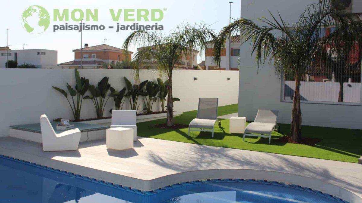 piscina en jardineria y paisajismo